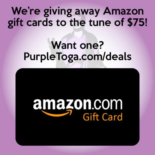 Purple Toga Giveaway
